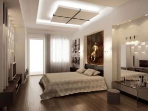 Những mẫu trần thạch cao phòng ngủ đẹp và phổ biến nhất theo xu hướng thiết kế 2018