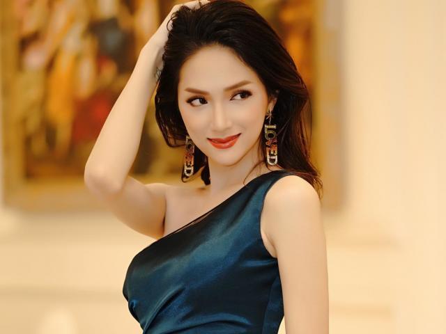 Bị hỏi nhiều câu hiểm, HH Hương Giang thản nhiên đối đáp chua không kém