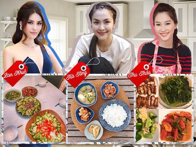 Chấm điểm mâm cơm của 3 mỹ nhân showbiz khi làm dâu 3 gia tộc triệu đô ở Việt Nam