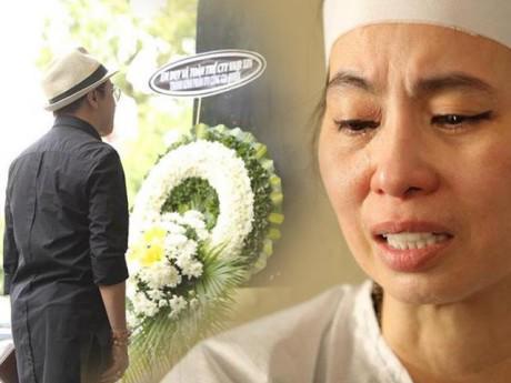 Thành Lộc đứng lặng trước cáo phó, xót xa thương vợ con nghệ sĩ Thanh Hoàng