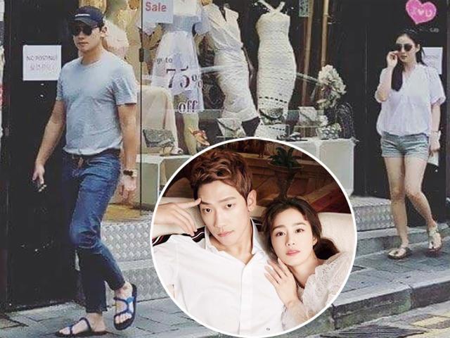Bắt gặp Kim Tae Hee phát tướng, bí mật đến Hong Kong hẹn hò cùng Bi Rain