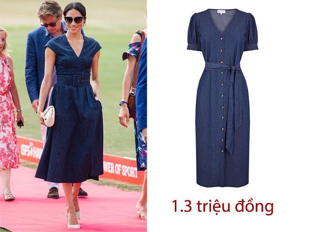 Mặc chiếc váy chỉ hơn 1 triệu đồng nhưng công nương Meghan vẫn đẳng cấp hết cỡ