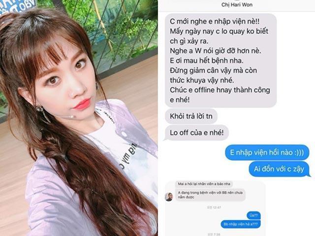 Sao Việt 24h: Trấn Thành gục ngã trước khả năng dịch tin nhắn của Hari Won