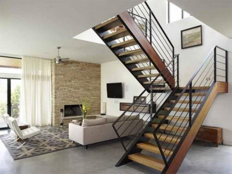 7 kiểu cầu thang đẹp cho nhà ống khiến khách đến chơi ngắm mãi không muốn về