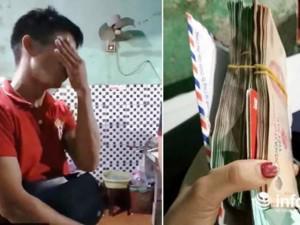 Chàng trai làm thuê bật khóc khi chủ quán cháo trả lại hơn 200 triệu đồng bỏ quên