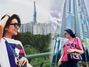 Sao Việt thi nhau chụp ảnh cùng toà nhà cao nhất Việt Nam