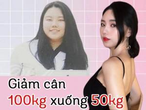 Bị bạn trai tàn nhẫn ruồng bỏ, cô gái từ 100kg giảm xuống 50kg trở thành hot girl nổi tiếng