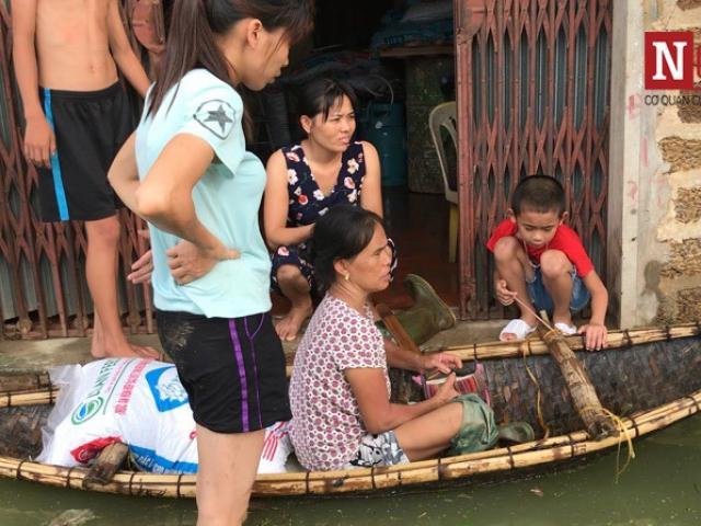 Ngoại thành Hà Nội Khốn khổ vì nước ngập bốn bề, sẵn sàng di dời 14.000 hộ dân