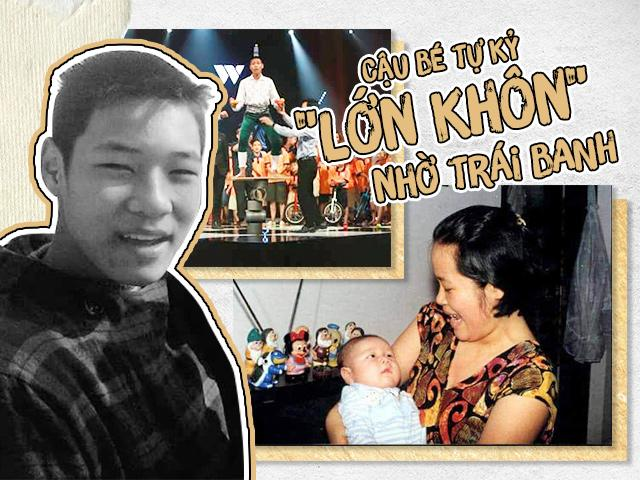 Nhiều năm đèn sách, mẹ Hà Nội giúp con tự kỷ trở thành kỷ lục gia xiếc
