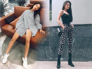 Cách ăn gian chiều cao cực đỉnh của thí sinh Việt Nam thấp nhất Asia's Next Top Model 2018