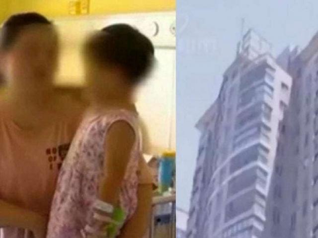 Ngã từ tầng 17, bé gái 2 tuổi đứng dậy và chạy vào nhà