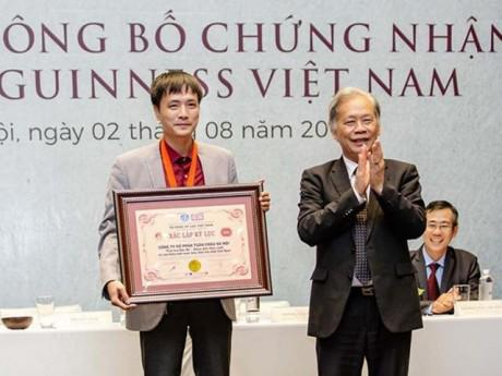 """Vở diễn thực cảnh """"Tinh hoa Bắc bộ"""" một lúc nhận 2 chứng nhận Guinness Việt Nam"""