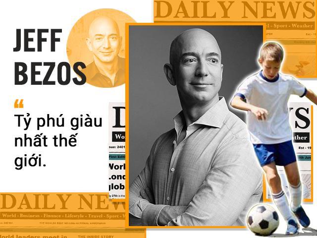 Tỉ phú giàu nhất thế giới Amazon sẵn sàng cho con chơi dao đứt tay còn hơn không biết gì