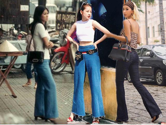 2 hotgirl 9x nhưng lại thích mặc lại đồ của mẹ từ vài chục năm trước