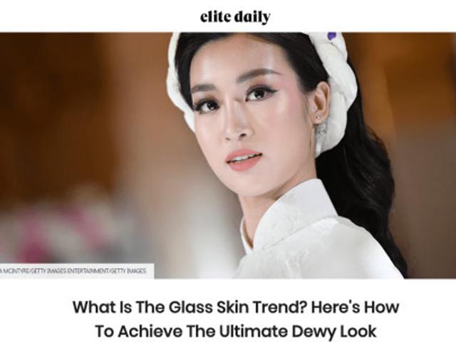 HOT: Hoa Hậu Đỗ Mỹ Linh đẹp tới mức lên báo nước ngoài, bị nhầm là người Hàn Quốc?