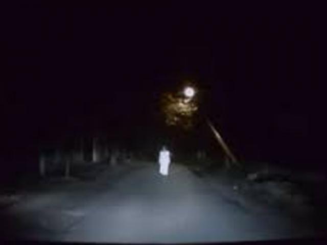 Lái xe taxi sợ hãi thấy bóng trắng nhỏ đi trong đêm, đến gần tá hỏa phát hiện sự thật