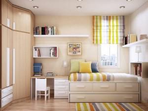 Những phương pháp thiết kế phòng ngủ nhỏ đẹp rộng rãi, thoải mái gấp đôi