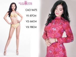 """Tuyệt chiêu tăng kích cỡ mông chóng mặt của nàng """"Siêu vòng 3"""" tại Hoa hậu Việt Nam"""