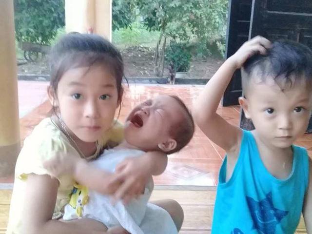 Mẹ trẻ qua đời sau cơn đau đầu bỏ lại 3 đứa con thơ khóc rạc cổ vì khát sữa