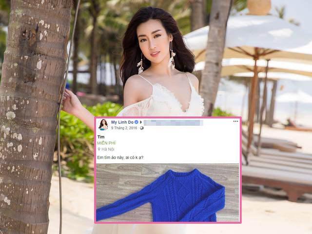 Phát hiện lý thú: Trước khi làm Hoa hậu, Đỗ Mỹ Linh mê đồ giá rẻ, không ngại thanh lý
