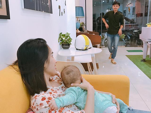 Bị chê nhõng nhẽo vì đòi chồng ở nhà sau sinh, Tú Vi phản pháo: Không trầm cảm đừng nói
