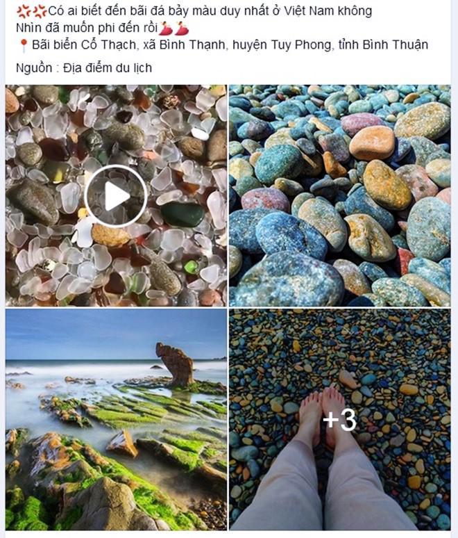 Bãi đá 7 Màu Duy Nhất ở Việt Nam đẹp Lung Linh Trên Mạng Và
