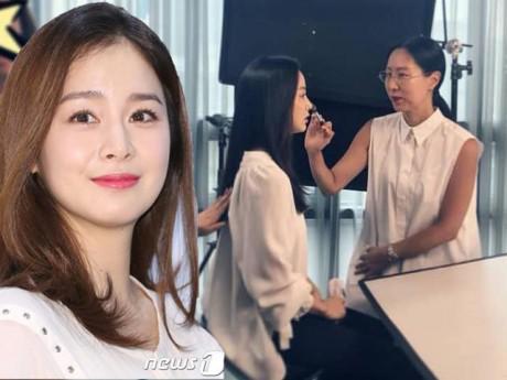 """Kim Tae Hee bị chê """"phát tướng"""", chuyên gia trang điểm khoe ảnh mi nhon nhưng nhận kết bất ngờ"""