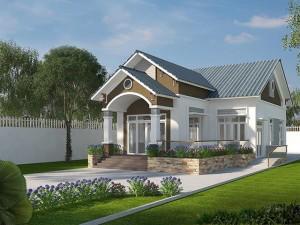 7 mẫu nhà cấp 4 đẹp ở nông thôn với chi phí xây dựng chưa đến 500 triệu đồng