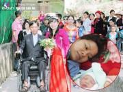 Vợ chồng Bắc Ninh nhọc nhằn chống nạng, đẩy xe lăn ròng rã thực hiện giấc mơ làm cha mẹ