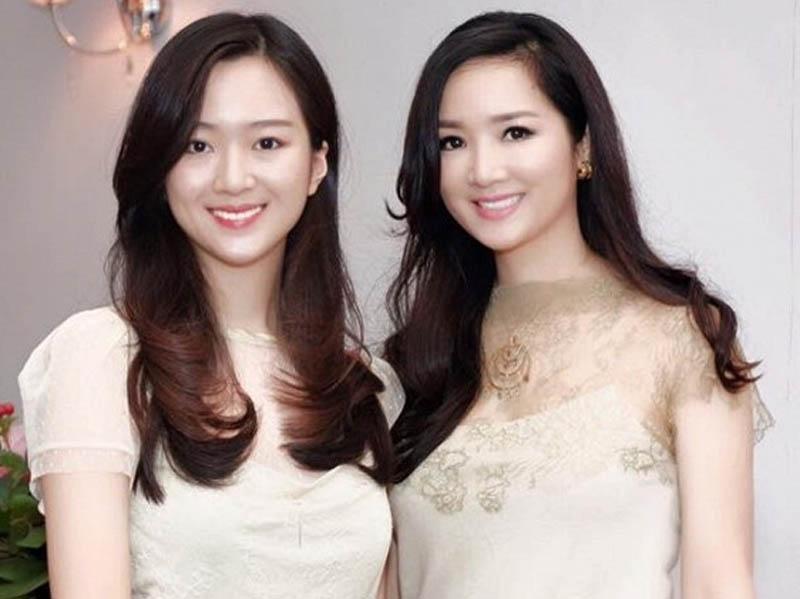 Anh Sa-con gái Hoa hậu Giáng Myluôn được săn đón vì vẻ ngoài xinh đẹp.