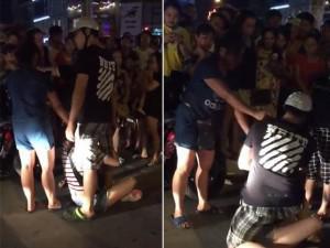 Hà Nội: Vợ bế con nhỏ đi đánh ghen, chồng thản nhiên ôm nhân tình bảo vệ tới cùng