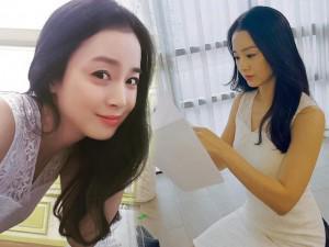 """Ngôi sao 24/7: Bị chê béo, """"mẹ bỉm sữa"""" Kim Tae Hee bất ngờ khoe ảnh """"tự sướng"""" chứng minh"""