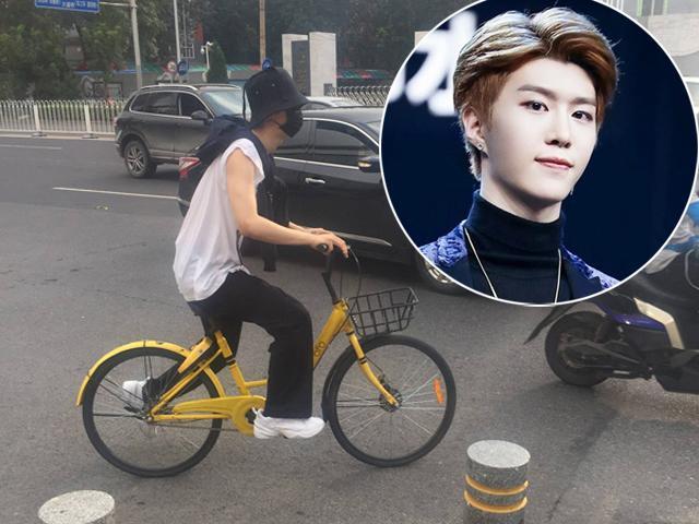 Chị gái 2 lần bị bắt và giam lỏng, em trai Phạm Băng Băng bình thản đạp xe dạo phố