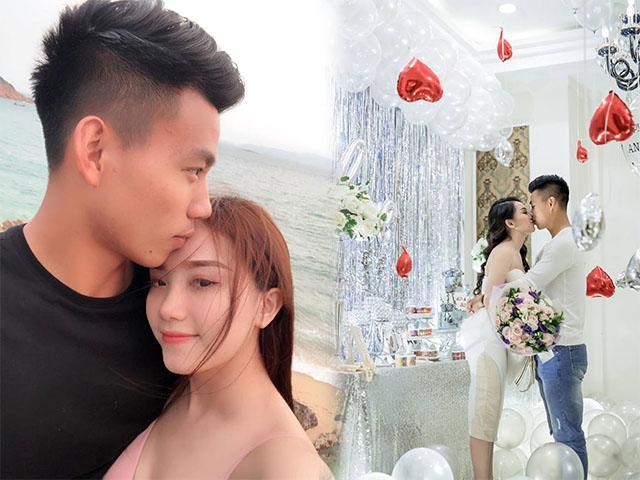 Bạn gái Văn Thanh U23: Nếu anh ấy không đá bóng nữa thì ở nhà tôi nuôi
