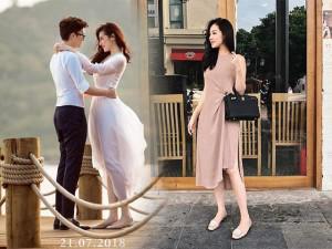 Từ ngày có chồng, Á hậu Tú Anh xách toàn túi trăm triệu dạo phố