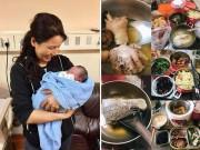 Chăm con dâu đẻ, mẹ chồng nấu trăm món bưng tận giường, kết quả cháu trai 5,6kg sau 2 tháng