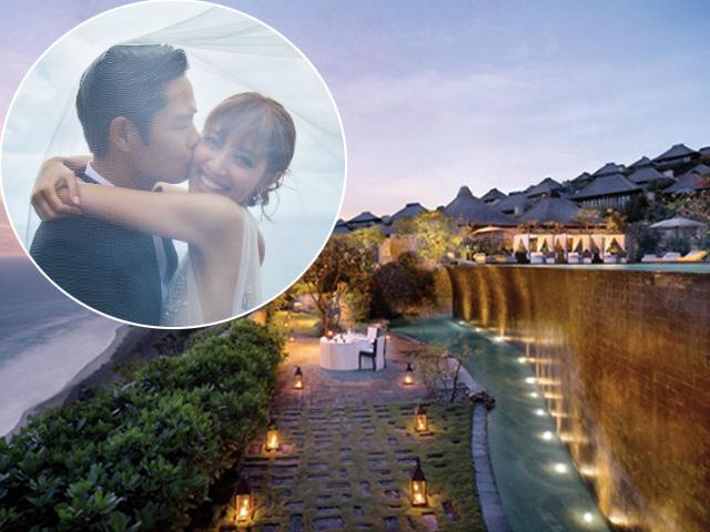 Lấy được con gái nhà giàu, tài tử lăng nhăng nhất Hong Kong kết hôn ở resort 5 sao