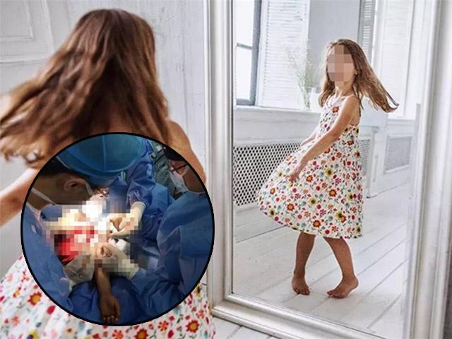 Bé gái nguy kịch tính mạng sau lần mở tủ quần áo bố mẹ và nhìn vào tấm gương lớn