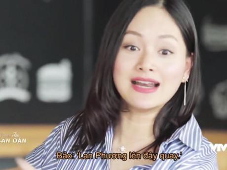 """Lan Phương kể chuyện """"hãi hùng"""" khi bầu 4 tháng: Leo núi quay phim, bắt đạo diễn... nắm chân"""