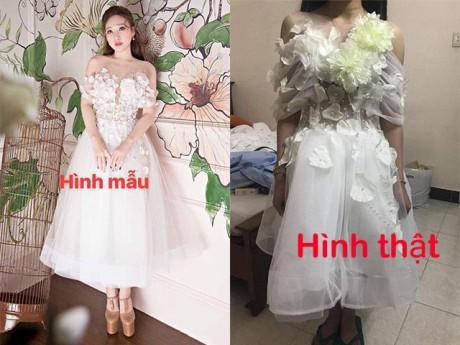 Mua hẳn hàng live stream nhưng cô gái Đà Nẵng vẫn ôm hận vì nhận chiếc váy... như chuột cắn
