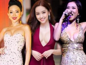 Đâu riêng Thúy Vi, showbiz Việt cũng có loạt mỹ nhân sở hữu vòng 1 nảy nở nhờ... trang điểm