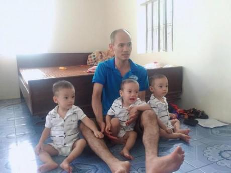 Những đứa trẻ trong ca sinh 3 đặc biệt hy hữu ở Hải Dương giờ ra sao?