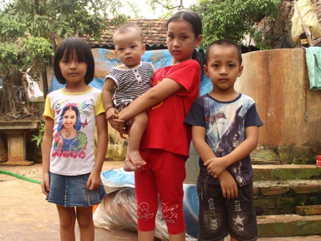 Bị chồng phản bội, vợ uống thuốc diệt cỏ tự tử bỏ lại 4 con thơ khát sữa
