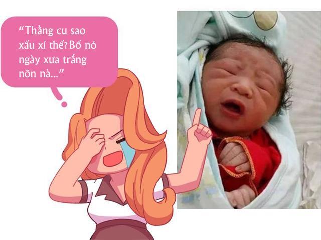 Than chuyện con mới sinh bị bà nội chê xấu, bà mẹ được hội bỉm sữa gửi ảnh an ủi
