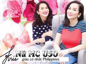 """Nữ MC U50 """"nhà có 2 người làm tổng thống"""" eo chẳng thon vẫn mặc đẹp hơn người!"""