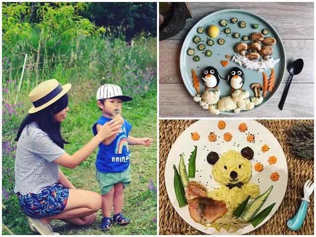 Mẹ Việt ở Pháp lên báo dày đặc vì làm món ăn cho con đẹp tới mức không nỡ ăn