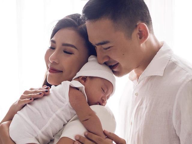 Sau hơn 1 tháng sinh con trai đầu lòng, Thúy Diễm tiết lộ bị mất trí nhớ nặng
