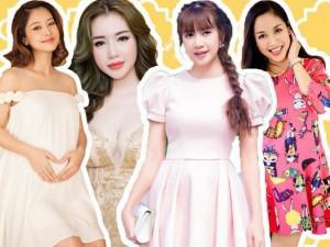 """Những cái nhất của 5 bà mẹ trẻ """"đông con"""" nổi tiếng showbiz Việt"""