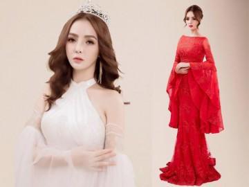 Nữ hoàng sắc đẹp châu Á Vi Nhạn Ngọc mong manh tựa nữ thần trong bộ ảnh mới