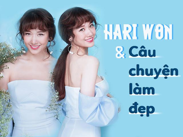 Hari Won: Ở thời điểm này, Hari vẫn chưa hài lòng về vẻ ngoài của mình.